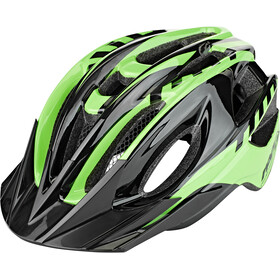 Red Cycling Products Rider Boy Casco Niños, verde/negro